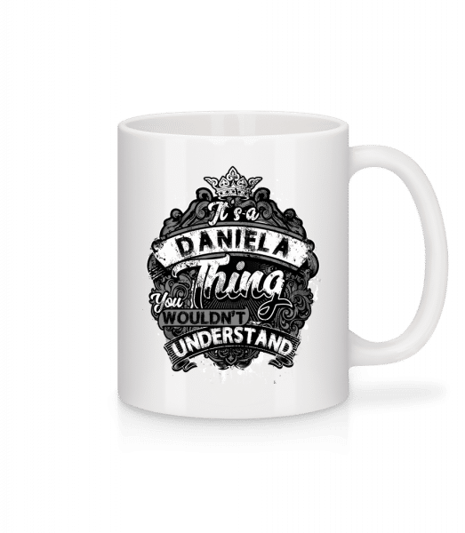 It's A Daniela Thing - Mug - White - Vorn