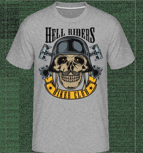 Hell Riders Biker Club -  Shirtinator Men's T-Shirt - Heather grey - Vorn