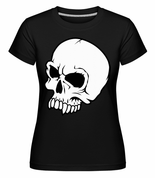 Dead Skull -  Shirtinator Women's T-Shirt - Black - Vorn