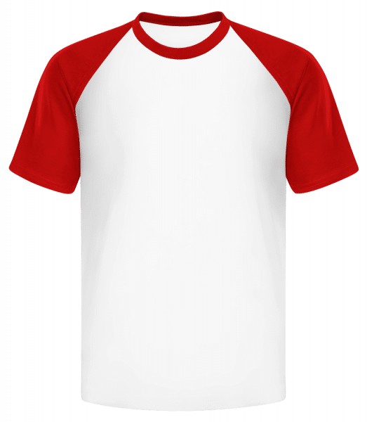 Men's Baseball T-Shirt - White - Vorn