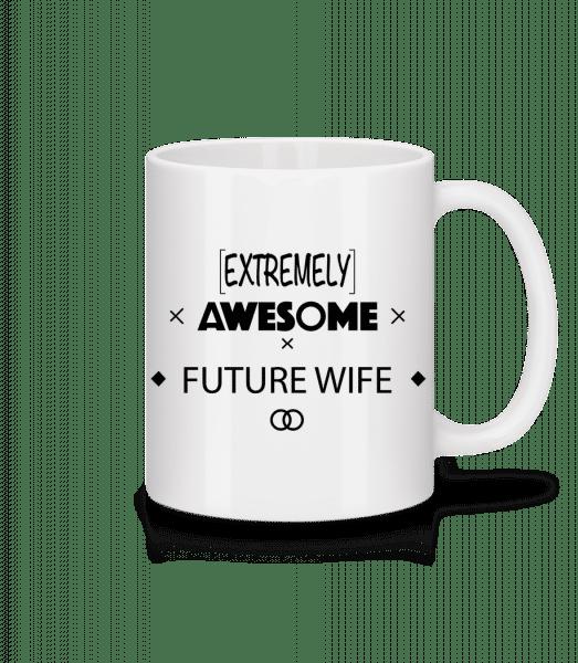 Awesome Future Wife - Mug - White - Vorn