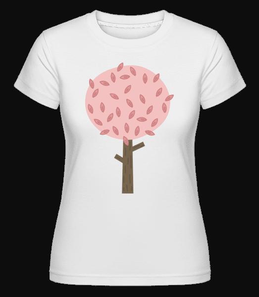 Autumn Tree -  Shirtinator Women's T-Shirt - White - Vorn