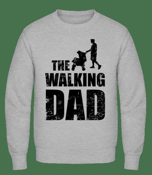 The Walking Dad - Classic Set-In Sweatshirt - Heather Grey - Vorn