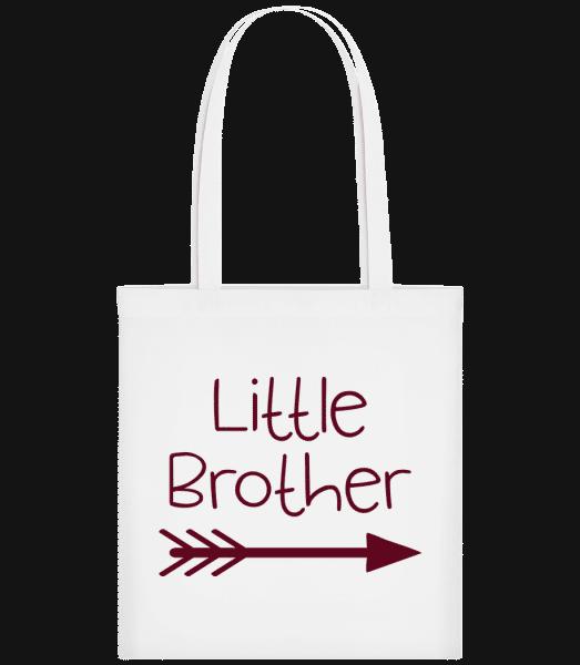 Little Brother - Taška Carrier - Bílá - Napřed