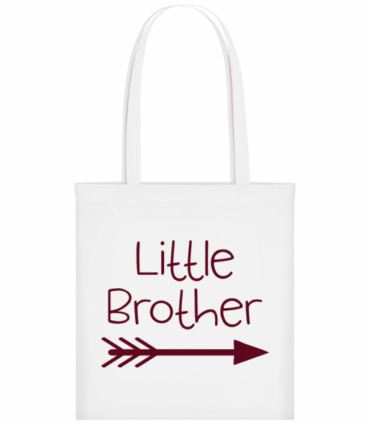 Little Brother - Taška Carrier - Biela - Predné