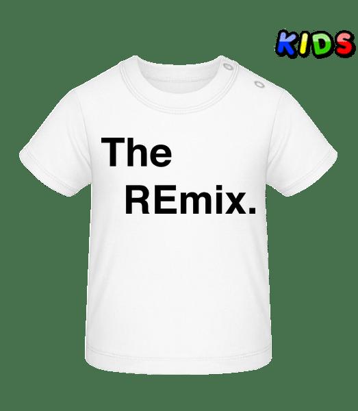 The REmix - Baby T-Shirt - White - Vorn