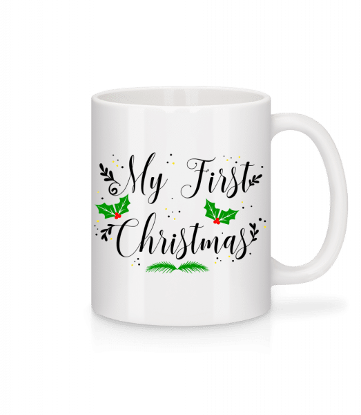 My First Christmas - Tasse - Weiß - Vorn