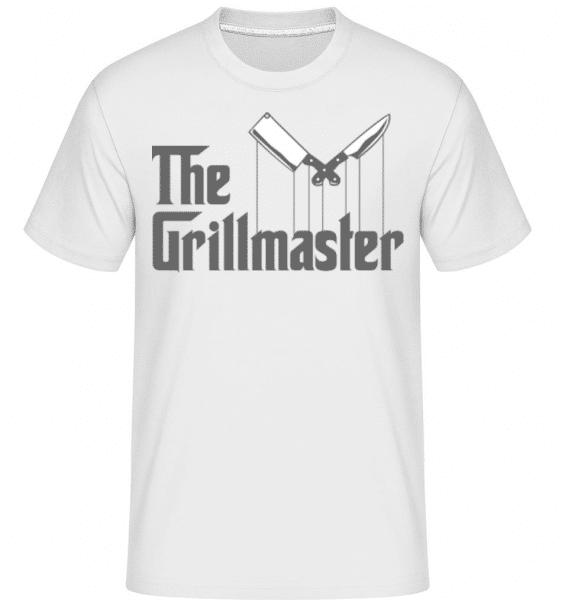 The Grillmaster -  Shirtinator Men's T-Shirt - White - Front