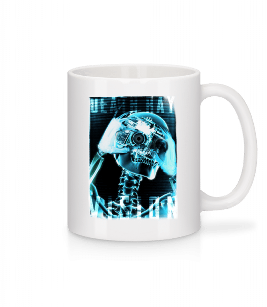 X-Ray Skeleton - Mug - White - Vorn