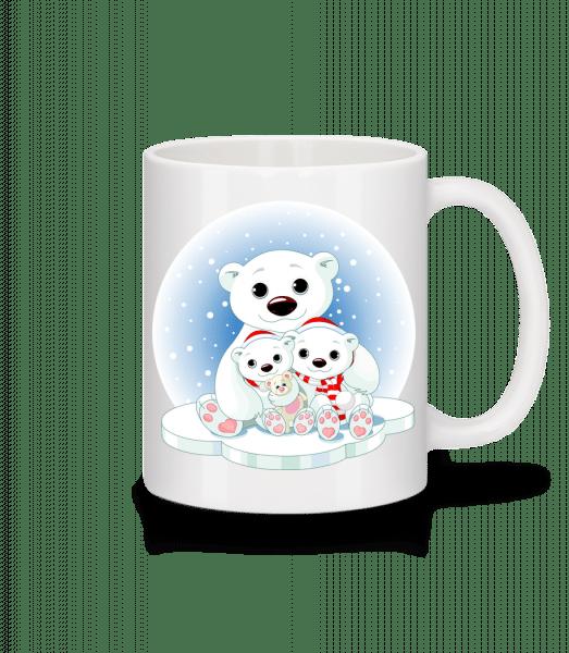 Polar Bears - Mug - White - Vorn