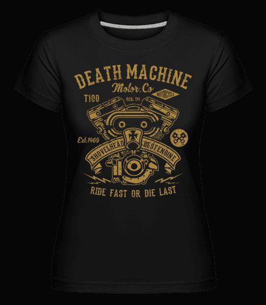 Death Machine -  Shirtinator Women's T-Shirt - Black - Vorn