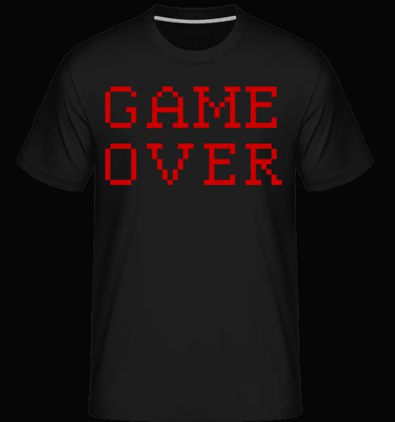 Game Over Pixel -  Shirtinator Men's T-Shirt - Black - Vorn
