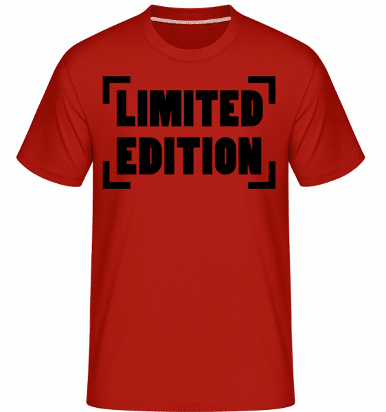 Limited Edition Logo -  Shirtinator Men's T-Shirt - Red - Vorn
