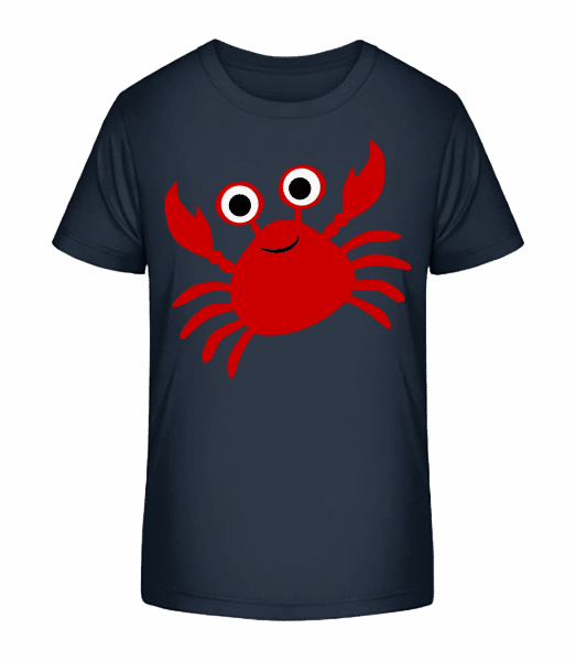 Crab - Kid's Premium Bio T-Shirt - Navy - Vorn