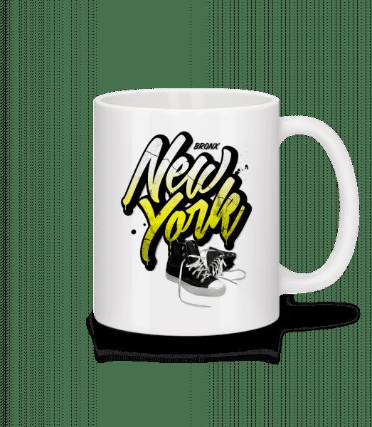 Bronx New York - Mug - White - Vorn