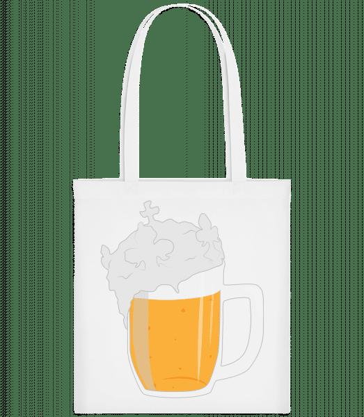 Beer - Taška Carrier - Bílá - Napřed