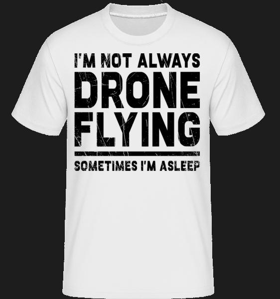 Sometimes I'm Asleep - Shirtinator Männer T-Shirt - Weiß - Vorn
