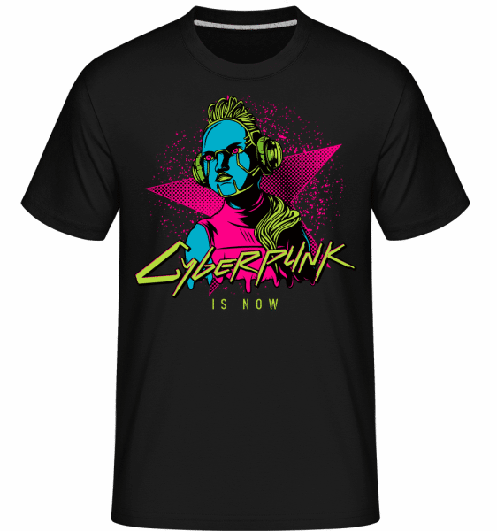 Cyberpunk Is Now -  Shirtinator Men's T-Shirt - Black - Vorn