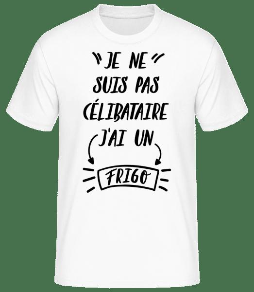 J'Ai Un Frigo - T-shirt standard Homme - Blanc - Vorn