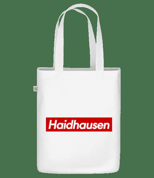 Haidhausen - Bio Tasche - Weiß - Vorn