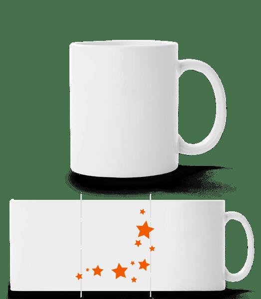 Stars - Panorama Mug - White - Vorn
