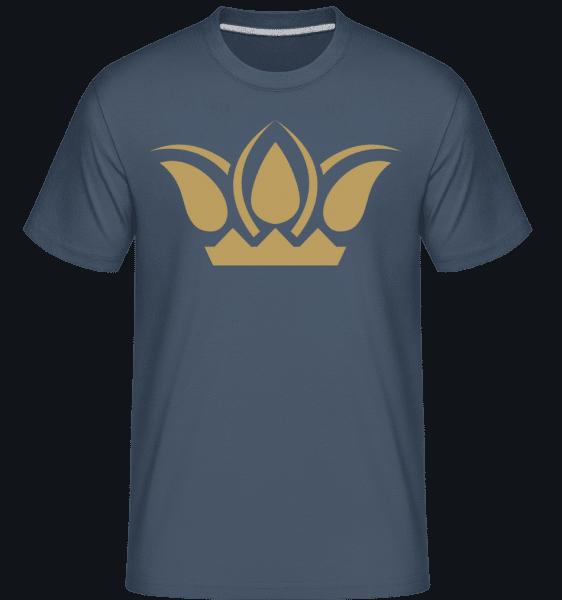 Crown Sign -  Shirtinator Men's T-Shirt - Denim - Vorn