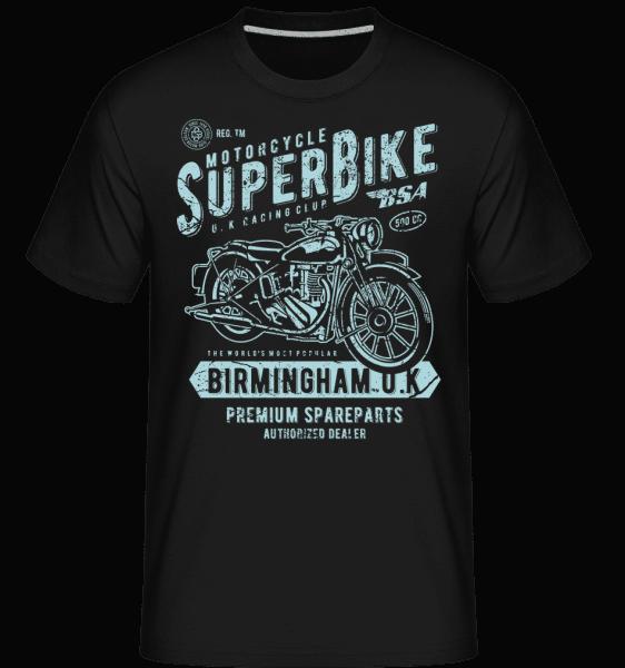 Super Bike -  Shirtinator Men's T-Shirt - Black - Vorn