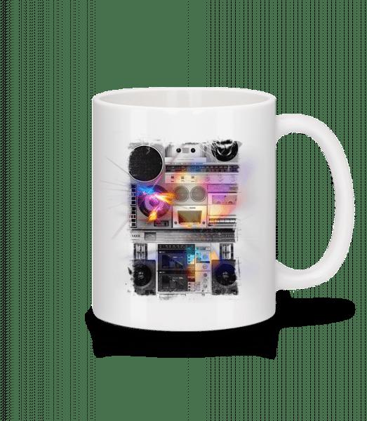 Ghettoblaster - Mug - White - Vorn