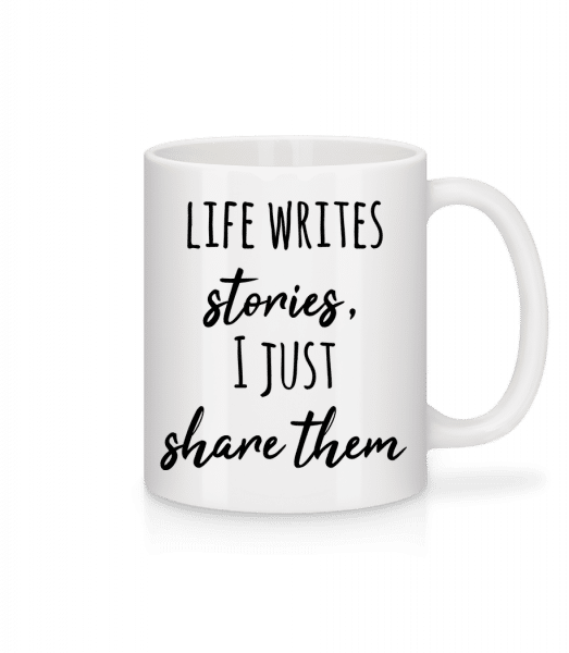 Life Writes Stories - Mug - White - Vorn