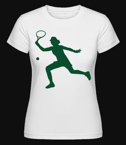 Play Tennis -  Shirtinator Women's T-Shirt - White - Vorn