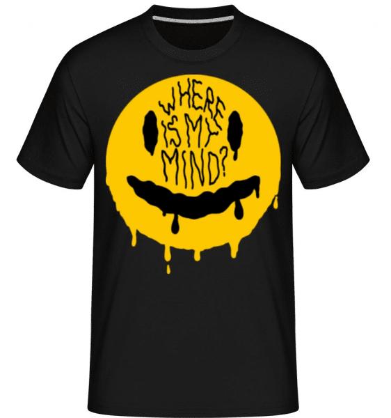 Where Is My Mind -  Shirtinator Men's T-Shirt - Black - Front
