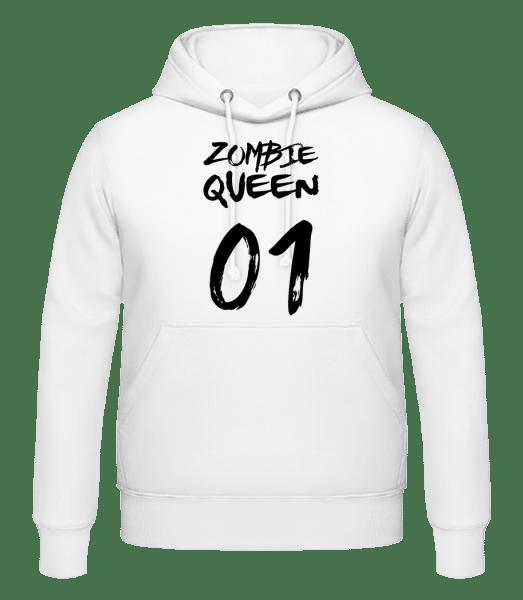 Zombie Queen - Men's Hoodie - White - Vorn