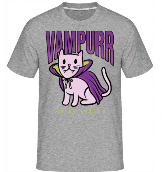 Vampurr -  Shirtinator Men's T-Shirt - Heather grey - Front