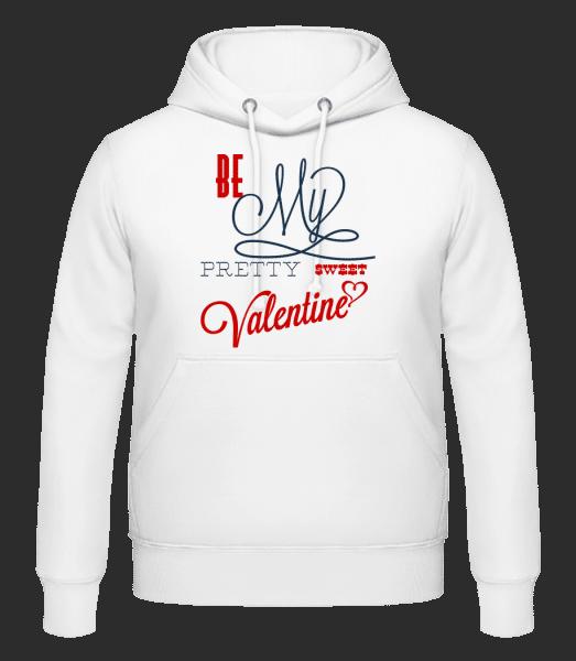 Be My Valentine - Men's Hoodie - White - Vorn