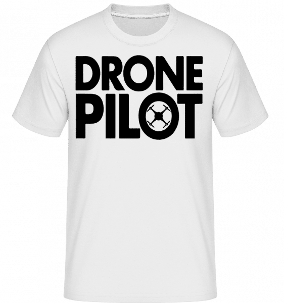 Drone Pilot -  Shirtinator Men's T-Shirt - White - Vorn