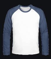 Männer Baseball-Shirt Longsleeve