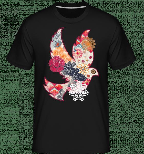 Sewn On Bird Collage -  Shirtinator Men's T-Shirt - Black - Vorn
