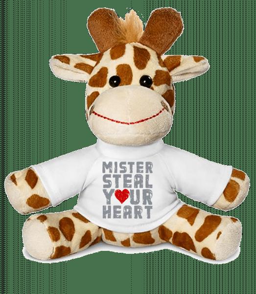 Mister Steal Your Heart - Giraffe - White - Vorn