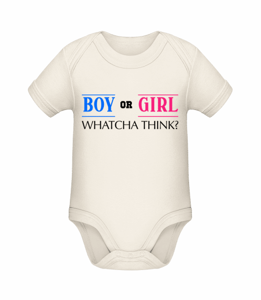 Boy Or Girl - Whatcha Think? - Organic Baby Body - Cream - Vorn