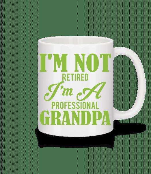 I'm Not Retired - Mug - White - Vorn