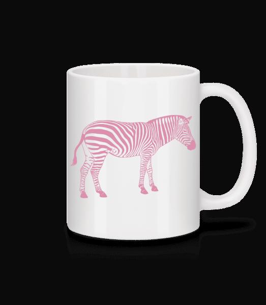 Zebra - Mug - White - Vorn