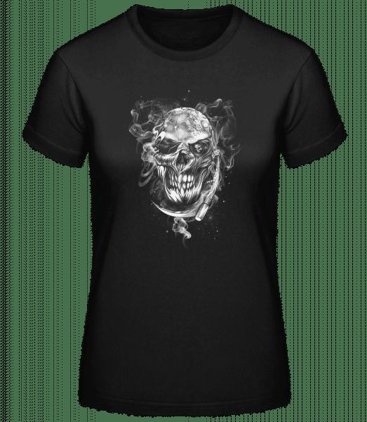 Crâne - Basic T-Shirt - Black - Vorn