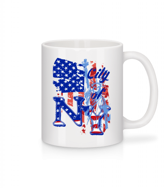 City Of NY - Mug - White - Front