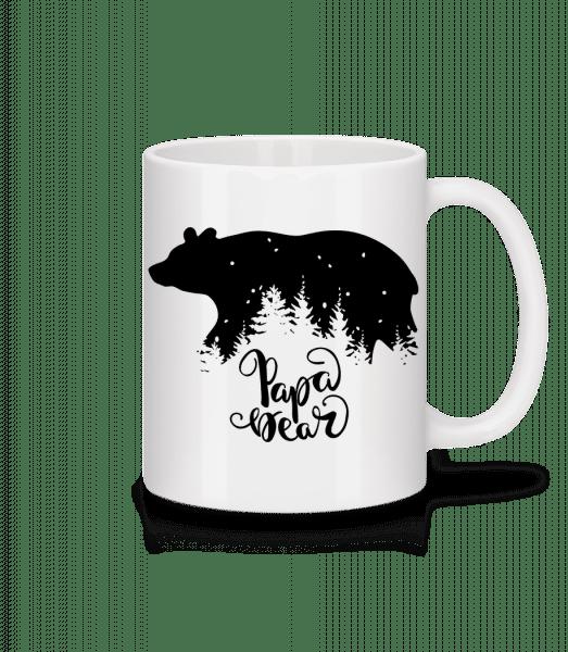 Papa Bear - Tasse - Weiß - Vorn