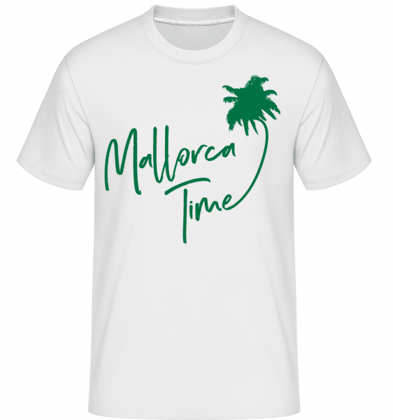 Mallorca Time -  T-Shirt Shirtinator homme - Blanc - Vorn
