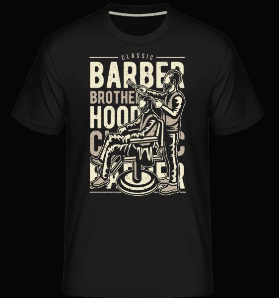 Barber Brotherhood -  Shirtinator Men's T-Shirt - Black - Vorn