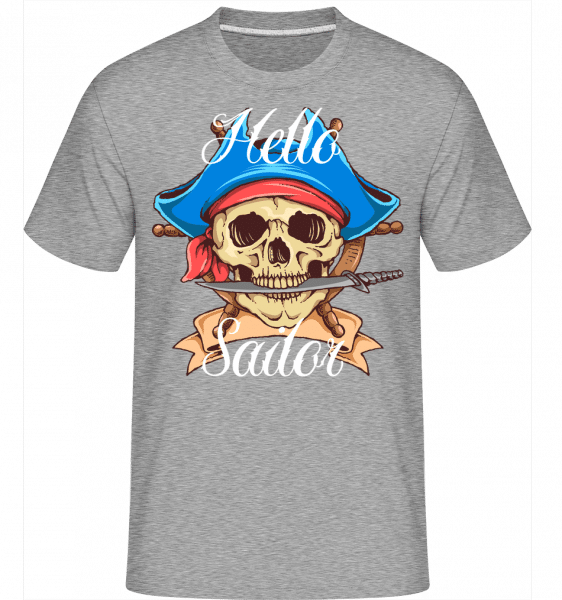 Hello Sailor -  Shirtinator Men's T-Shirt - Heather grey - Vorn