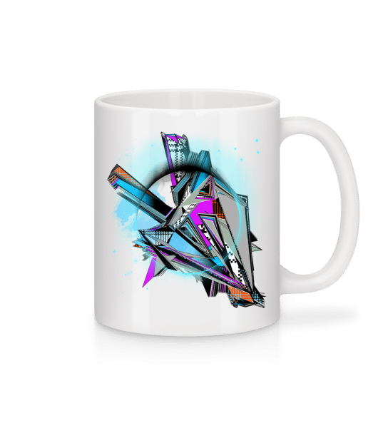 Geometry Graffiti - Mug - White - Vorn