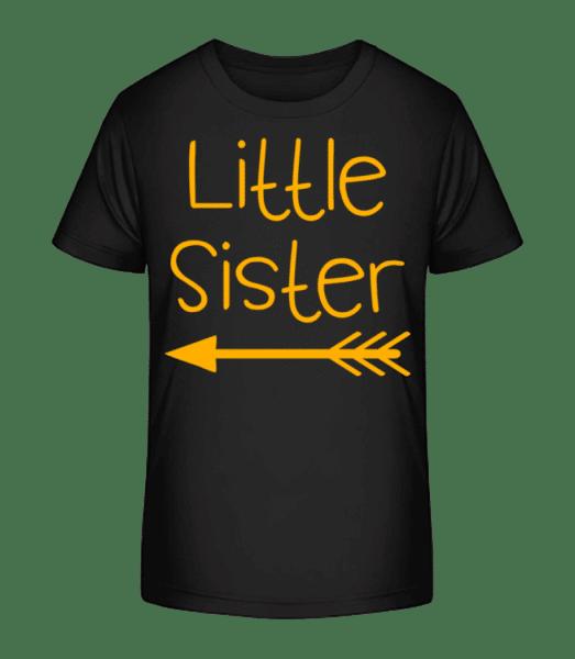 Mladší sestra - Detské Premium Bio tričko - Černá - Napřed