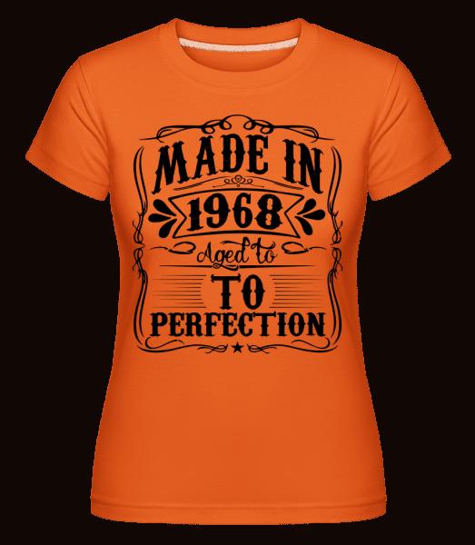 Made In 1970 -  Shirtinator Women's T-Shirt - Orange - Vorn